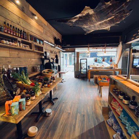 the salt pig interior