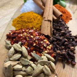 Spices used in our meat
